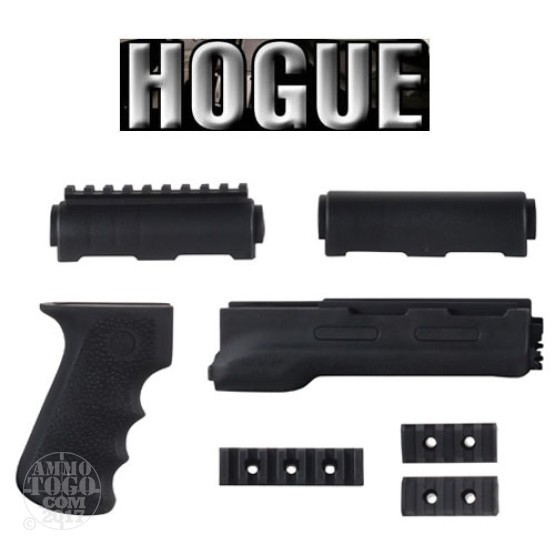 1 - Hogue Rubber Overmolded Forend and Grip for AK-47 and AK-74 Black