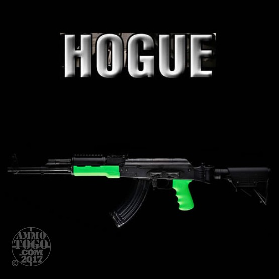 1 - Hogue Zombie-X Rubber Overmolded Forend and Grip for AK-47 and AK-74 Green