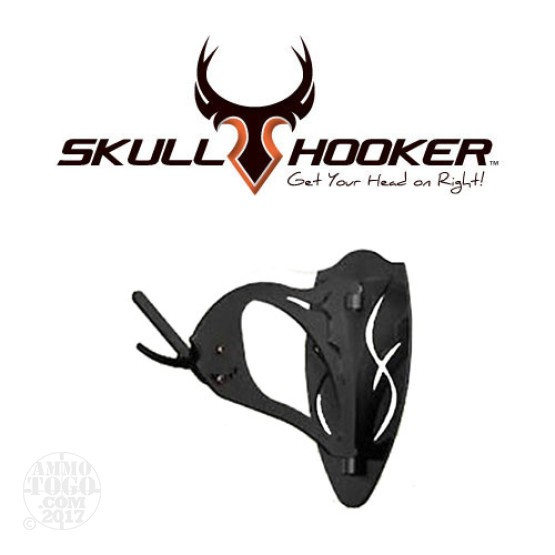 1 - Big Skull Hooker European Skull Mounting Bracket System Graphite Black