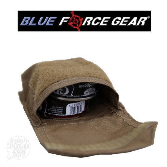 1 - Blue Force Gear Helium Whisper Boo Boo Kit Pouch Empty Coyote Brown