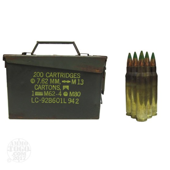500rds - 5.56 Lake City XM855 62gr. FMJ Penetrator in Fair Ammo Can