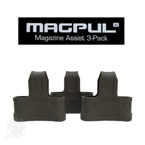 1 - Magpul .223/5.56 NATO 3 Pack Magazine Assist Foliage