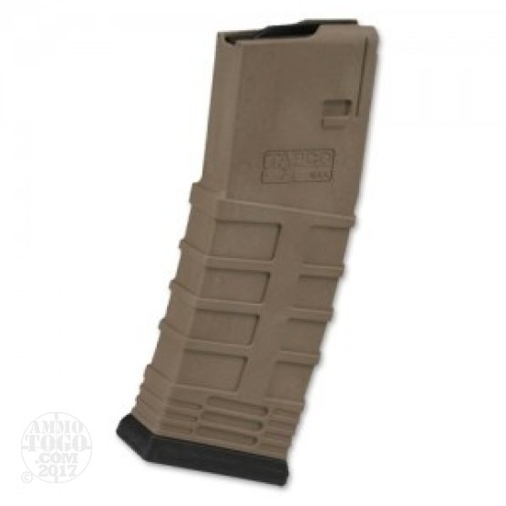 1 - TAPCO AR-15 .223 Dark Earth Polymer 30rd. Magazine