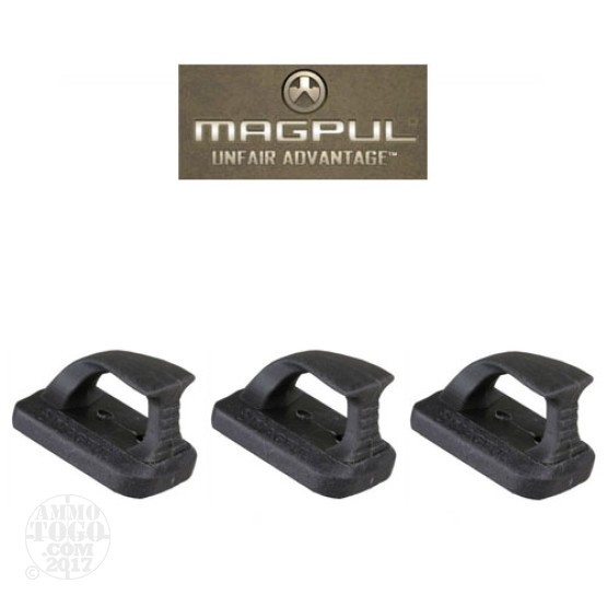 1 - Magpul Speedplate Plate 3-Pack for Glock 9mm and .40 S&W Black