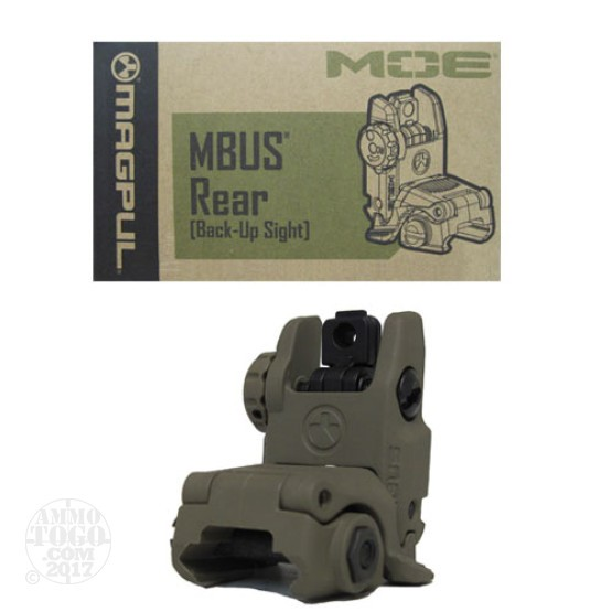 1 - Magpul MBUS Dark Earth Gen2 Rear Folding Sight