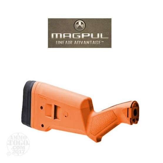 1 - Magpul SGA Stock for Remington 870 Orange Color