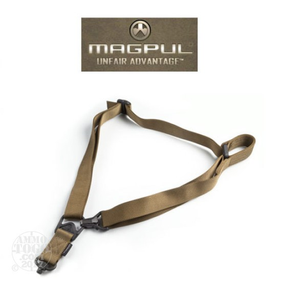 1 - Magpul MS3 Single QD Sling Multi Mission Sling System Coyote Color