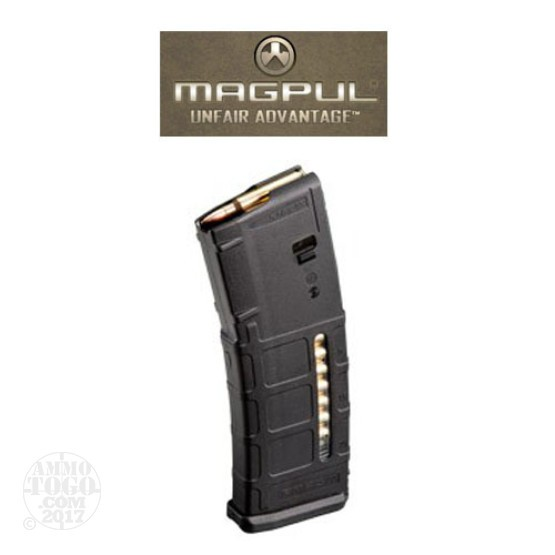 1 - Magpul PMAG P30 Gen M2 AR15/M16 Black 30rd. Mag Level Window Magazine