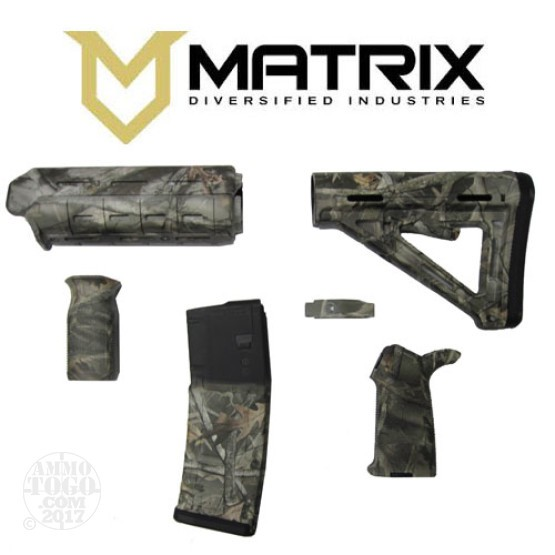 1 - Matrix Diversified With Magpul AR-15 Bucks & Bones Commercial Rifle Kit