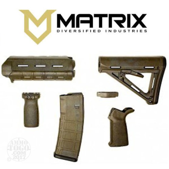 1 - Matrix Diversified With Magpul AR-15 Bounty Hunter Mil-Spec Rifle Kit