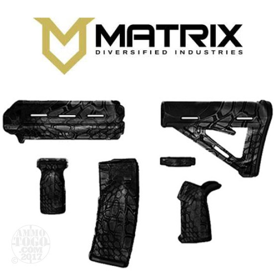 1 - Matrix Diversified With Magpul AR-15 Typhon Camo Mil-Spec Rifle Kit