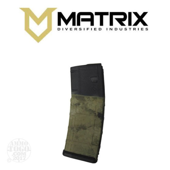 1 - Matrix Diversified With Magpul PMAG P30 AR15 High Desert 30rd. Magazine