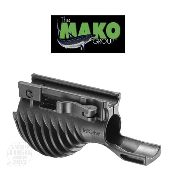 "1 - Mako Tactical Horizontal Foregrip with 1 1/8"" Weapon Light Adapter"