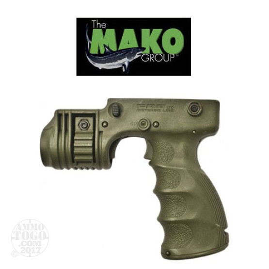 "1 - Mako Foregrip w/1"" Weapon Light Adapter and On/Off Trigger OD Green"