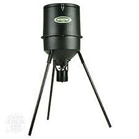 1 - Moultrie Feeders 30 Gallon Pro Hunter Tripod Feeder