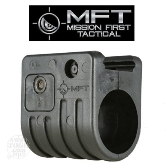 "1 - MFT Classic FAS2 Flashlight 1"" Mount Black Polymer"