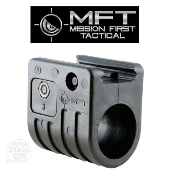 "1 - MFT Classic FAS3 Flashlight 15/16"" Mount Black Polymer"