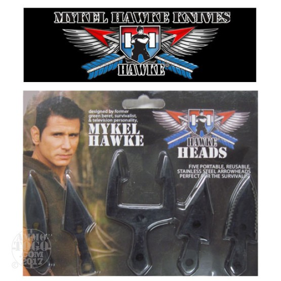 1 - Mykel Hawke Hawke Heads Reusable Arrowheads