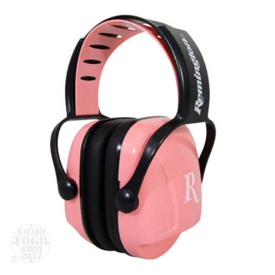 1 - Remington MP-22 Women's Hearing Protection Earmuffs Pink Color