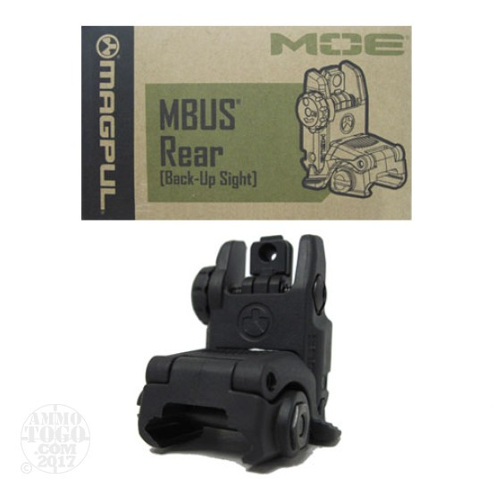 1 - Magpul MBUS Black Gen2 Rear Folding Sight