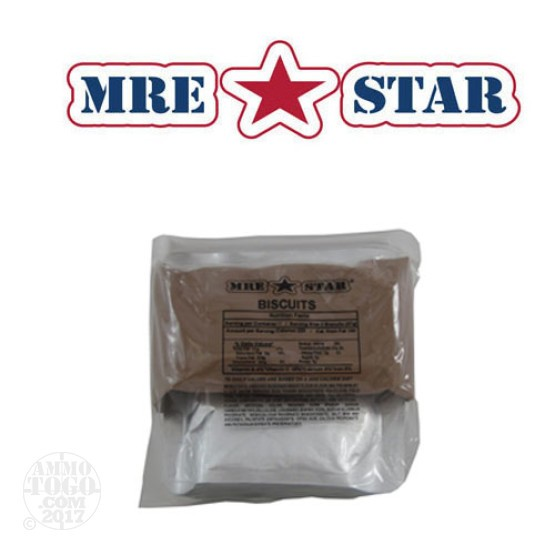 1 - MRE STAR Sausage, Biscuits, and Gravy Entree Only