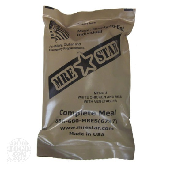 1 - MRE STAR White Chicken and Rice with Vegetables