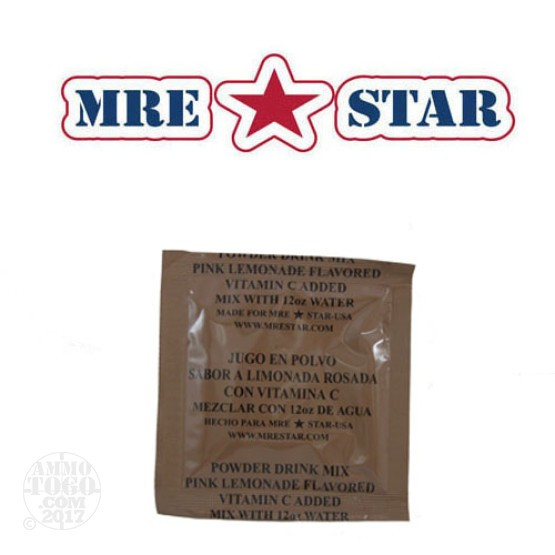 1 - MRE STAR Pink Lemonade 28 gram Drink Mix