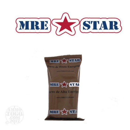 1 - MRE STAR High Energy Bar 56 gram Snack Bar