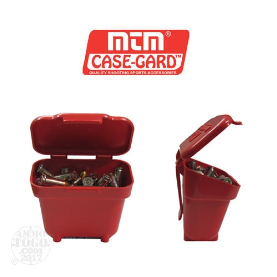 1 - MTM Case-Gard Ammo Belt Pouch Red Color
