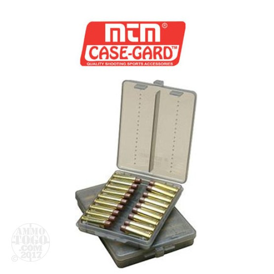 1 - MTM Case-Gard Pistol Ammo Wallet 18rd. .38 - .357 Caliber Smoke Color