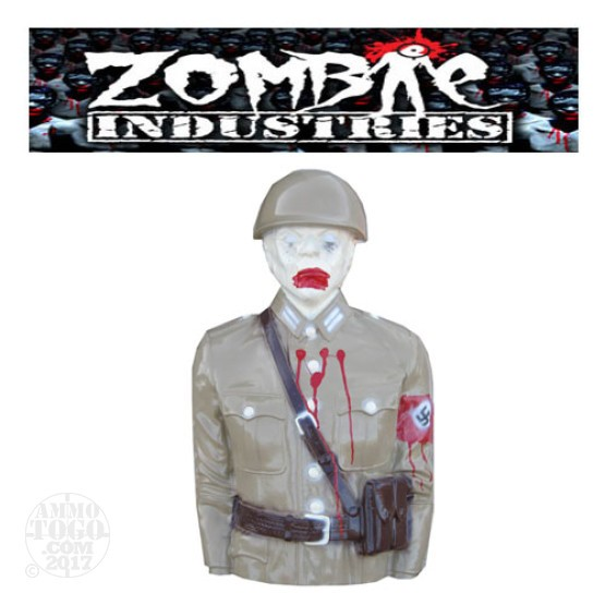 1 - Zombie Industries Tactical Mutilating Zombie Target - SS Nazi (Tan Color)