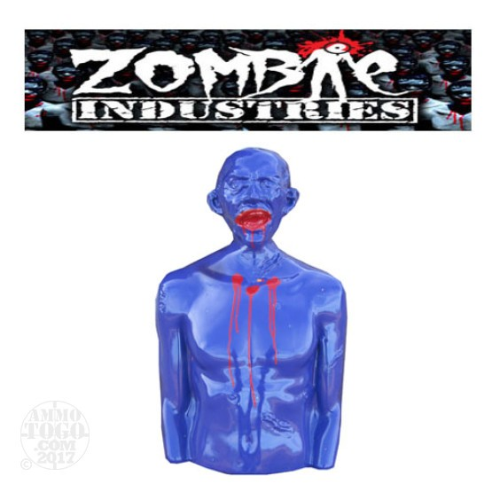 1 - Zombie Industries Tactical Mutilating Zombie Target - Bill (Purple Color)