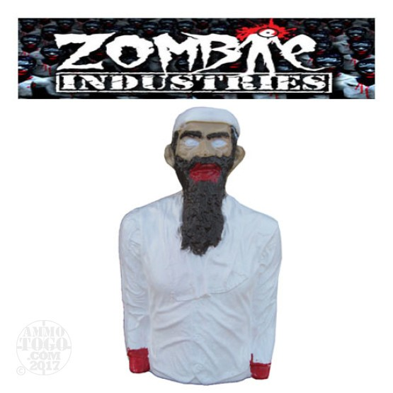 1 - Zombie Industries Tactical Mutilating Zombie Target - Al Qaeda (Off White Color)