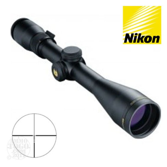 1 - Nikon Monarch UCC 3-9X40 Matte BDC Rifle Scope