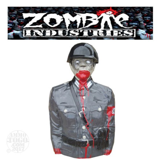 1 - Zombie Industries Tactical Bleeding Zombie Target - Nazi (Soldier)