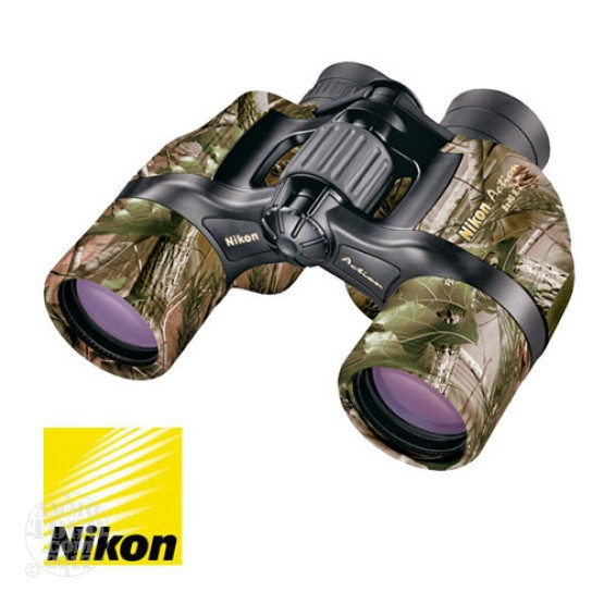 1 - Nikon 8x40mm Realtree APG Camo Action Series Binoculars