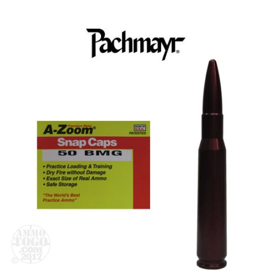 1rds - 50 BMG Pachmayr A-Zoom Snap Cap