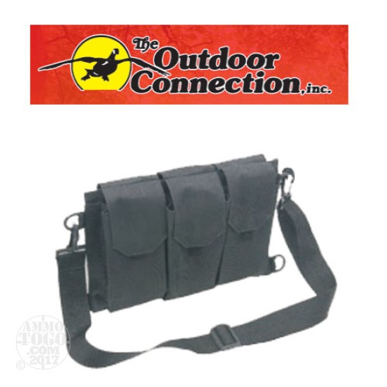 1 - Outdoor Connection Multi Magazine Pouch, Black