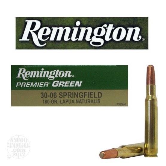 20rds - 30-06 Remington 180gr. Lapua Naturalis Ammo