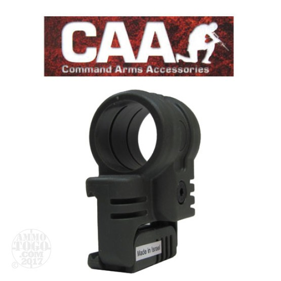 "1 - CAA Low Profile Offset Laser Mount 1"" OD Green Polymer"