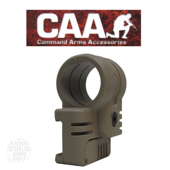 "1 - CAA Low Profile Offset Laser Mount 1"" Tan Polymer"