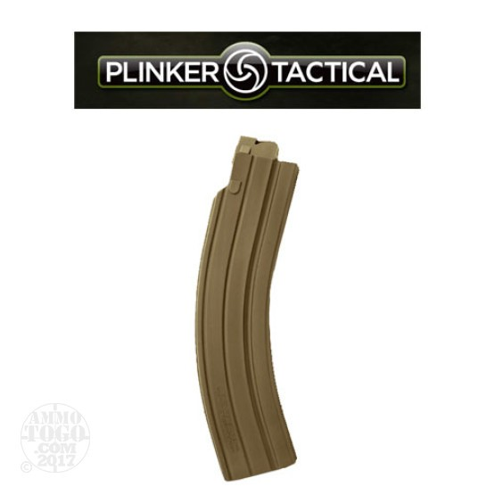 1 - Plinker Tactical 35rd. Magazine for S&W M&P15 22LR FDE Polymer