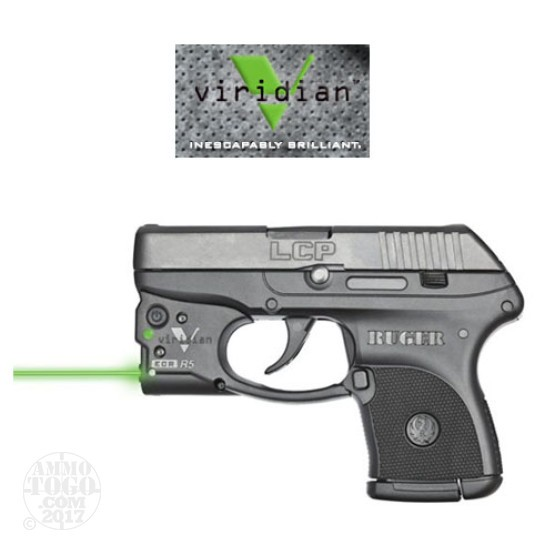 1 - Viridian Reactor 5 Green Laser Sight w/Holster for Ruger LCP