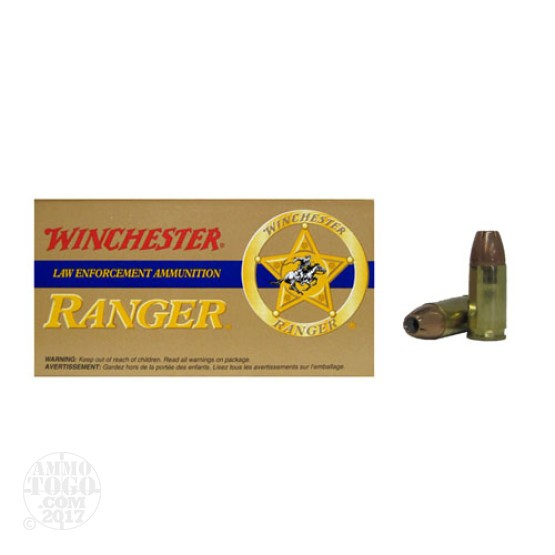500rds - 9mm Winchester Ranger 115gr. Hollow Point Ammo