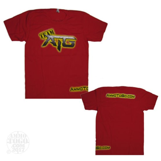 1 - Red Ammo To Go Team ATG T-Shirt (Medium)