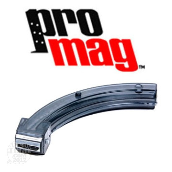 1 - ProMag Ruger 10/22 22LR 32rd. Magazine - Smoke Polymer