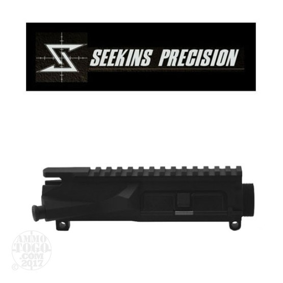 1 - Seekins Precision SP223 Stripped AR-15 Upper Receiver w/ Fwd. Assist and Ejection Port Cover