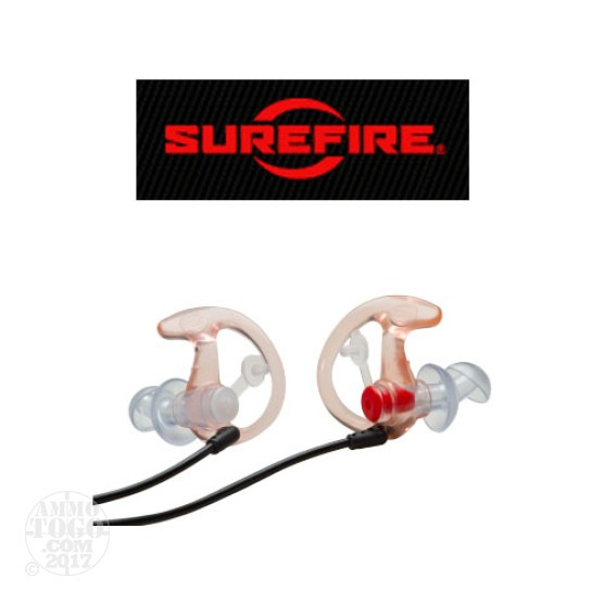 1 - Surefire Earpro EP4 Small Clear Hearing Protection Earpieces