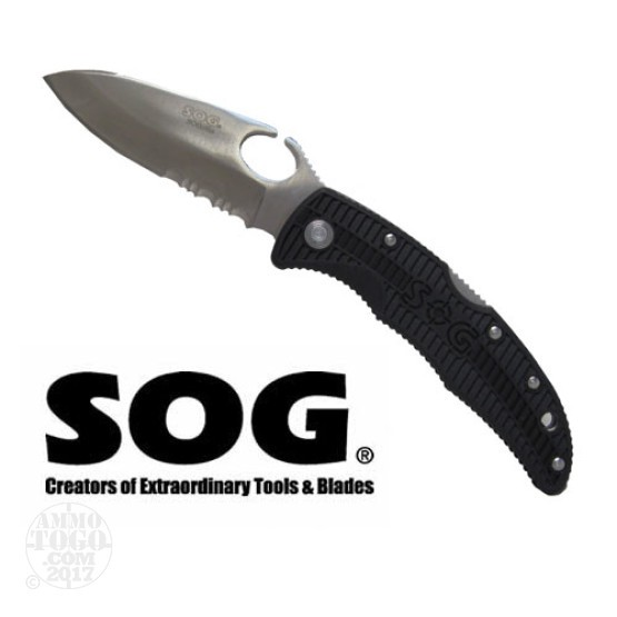 1 - SOG Sogzilla Small SP-02 1/2 Serrated Edge Knife