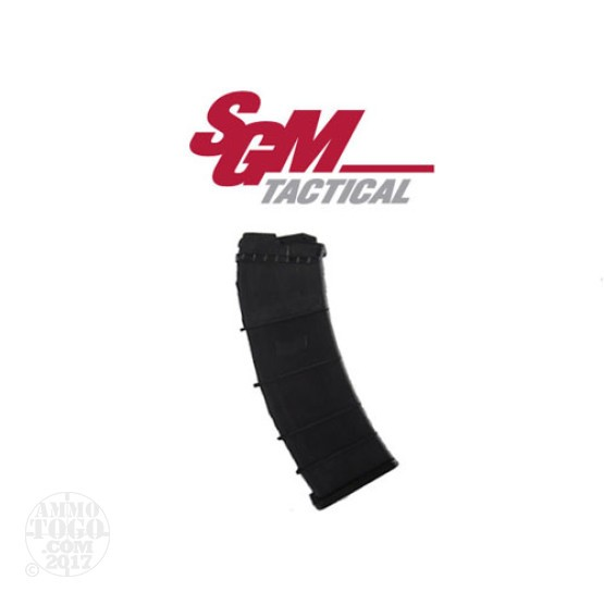 1 - SGM Tactical Saiga 12 Gauge 12rd. Black Polymer Box Magazine